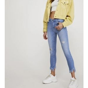 Free People Great Heights Frayed jeans